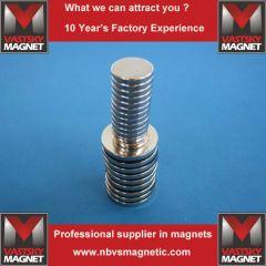 Rare earth magnet for speaker
