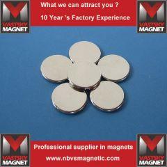 Neodymium button magnet