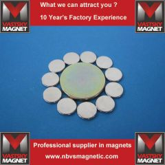 Circular neodymium magnet