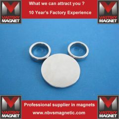 Thin neodymium magnet