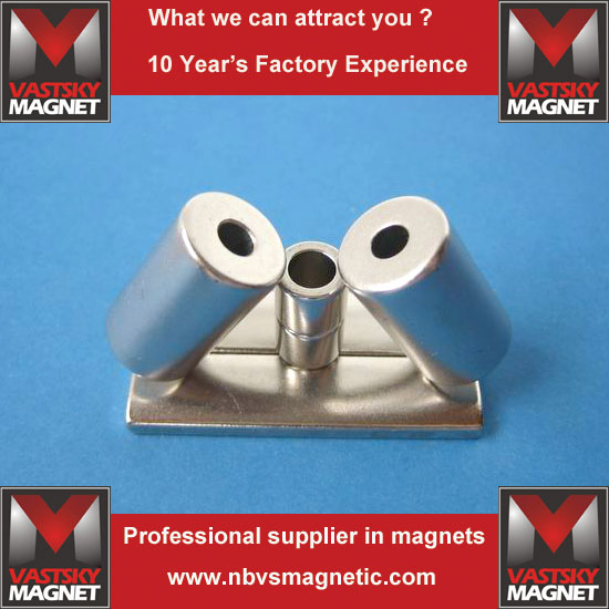 Grade n48 sintered ndfeb magnet china maker