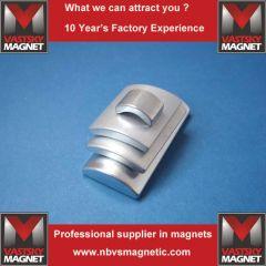 Arc shape neodymium magnet