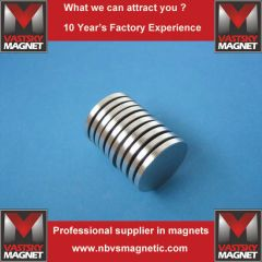 Disc rare earth magnet