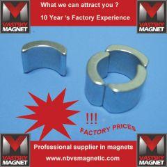 Neodymium magnet arc