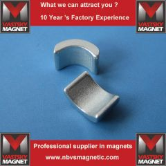 ndfeb motor rotor magnet